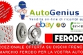 DISCHI FRENO FERODO DISPONIBILI DA AUTOGENIUS A PREZZI CONVENIENTI!