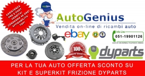 DA AUTOGENIUS DISPONIBILI SUBITO KIT E SUPERKIT FRIZIONE DYPARTS !